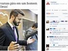 Foto de pastor em culto faz sucesso e viraliza na internet: 'boy unção'