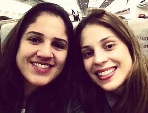Natália e Camila Brait, Vôlei (Foto: Reprodução Instagram)