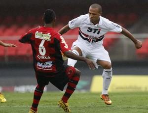 Luis Fabiano São Paulo x Oeste (Foto: Rubens Chiri / saopaulofc.net)