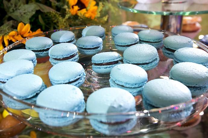 Macarons Azuis (Foto: Camila Camacho / Gshow)