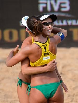 Ágatha e Bárbara Seixas no Grand Slam de Olsztyn (Foto: Divulgação/FIVB)