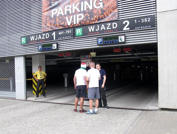 eurocopa 2012 polônia show linkin park (Foto: Marcos Felipe / Globoesporte.com)