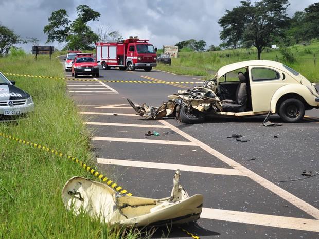 Auxiliar de 49 anos levava o neto ao pronto-socorro quando aconteceu o acidente (Foto: Guilherme Leoni/EPTV)