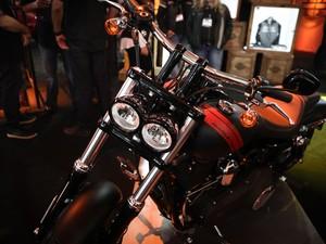 Harley-Davidson Fat Bob (Foto: Caio Kenji/G1)
