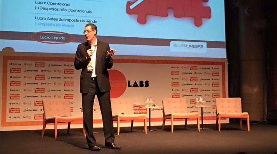 Márcio Iavelberg, da Blue Numbers, no PEGN Labs (Foto: Adriano Lira)