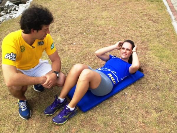 Veja como chegar com a barriga sequinha no verão (Foto: Sonia Campos/RBS TV)
