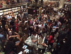 Lançamento Livro Medina (Foto: Carol Fontes)
