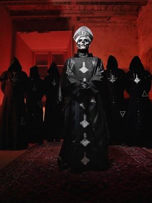 A banda Ghost (Foto: Divulgação)
