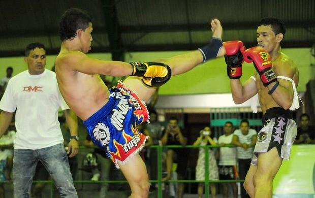 Muay thai Manaus (Foto: Michael Dantas/Sejel)