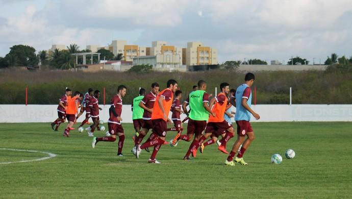 América-RN - jogadores CT Abílio Medeiros (Foto: Canindé Pereira/Divulgação)