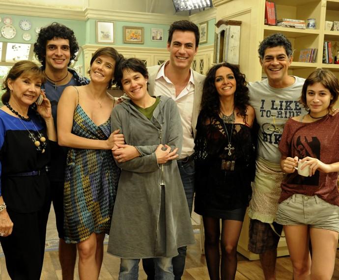 Carlos Casagrande gravou uma participação especial no programa Louco por Elas (Foto: Estevam Avellar / TV Globo)