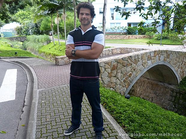 O ator Duda Nagle volta a fazer Malhação após anos  (Foto: Malhação / TV Globo)