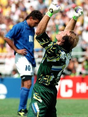 taffarel brasil baggio itália 1994 final copa do mundo (Foto: Agência AFP)