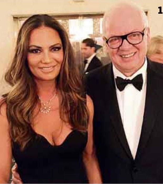 Luiza Brunet ao lado do empresário Lírio Parisotto (Foto: Reprodução/Instagram)