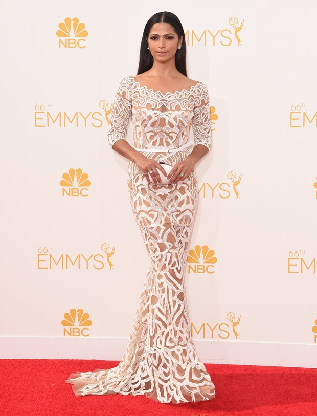 [620] Camila Alves no Emmy 2014 (Foto: Getty Images)