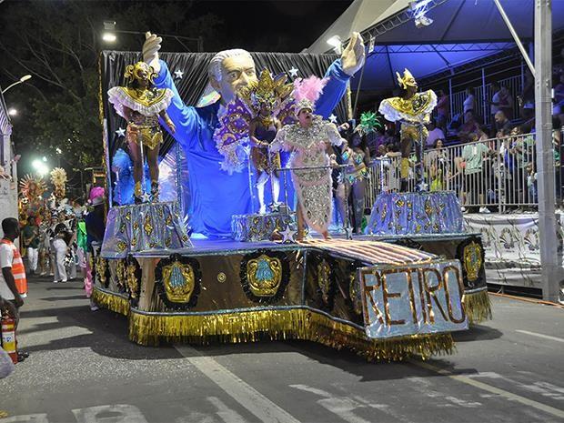 Unidos das Vilas do Retiro Carnaval 2013 (Foto: Carlos Mendonça PJF/ Divulgação)
