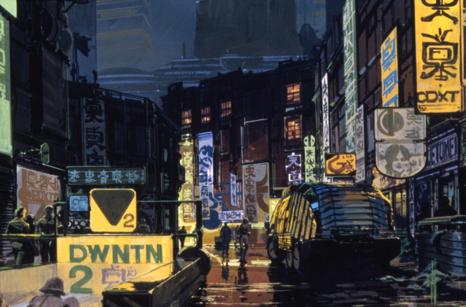 Arte de Blade Runner (Foto: Divulgação)