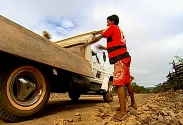 Trabalho infantil (Foto: frame)