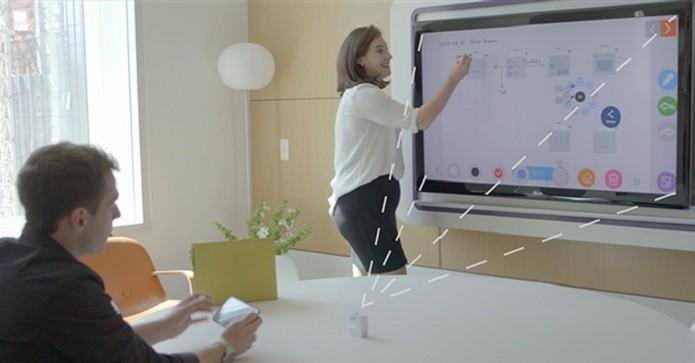 GoTouch permite que mais de um usuário interaja com a tela (Foto: Reprodução/Kickstarter)
