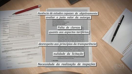 TCE-GO arquivou análise de licitação da Saneago vencida pela Odebrecht
