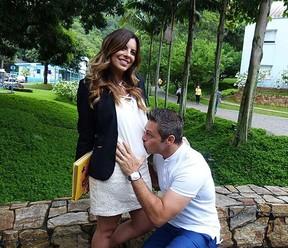 Rubia Baricelli e Luigi Baricelli (Foto: Instagram)