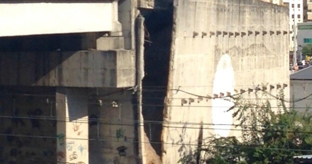 Afundamento de pista em viaduto interrompe circulação de trens no ... - Globo.com