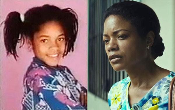 Naomie Harris em 'Simon and the Witch' (1987) e 'Moonlight: Sob a Luz do Luar' (2016) (Foto: Divulgação)