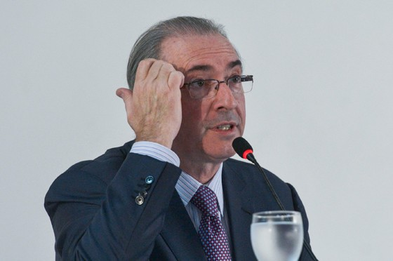 O presidente afastado da Câmara dos Deputados, Eduardo Cunha (Foto: José Cruz/Agência Brasil)