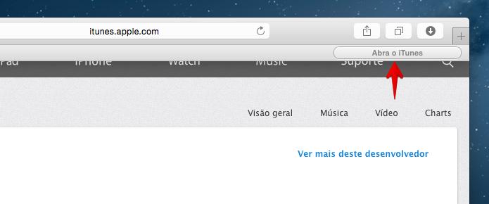 Extensão bloqueia a abertura da loja de apps (Foto: Reprodução/Helito Bijora)