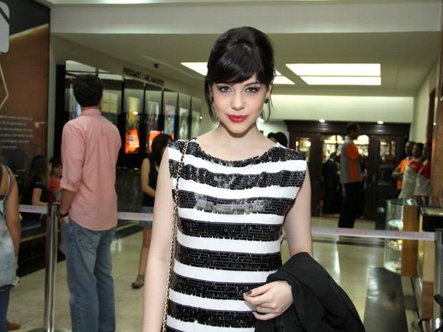 Bia Arantes em pré-estreia de filme no Rio (Foto: Thyago Andrade/ Foto Rio News)