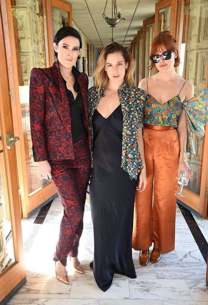 Rumer, Scout e Tallulah Willis  (Foto: Getty Images)