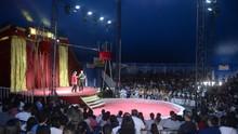 'Circo Integração' reúne mil pessoas em espetáculo gratuito (Marlon Fernandes)