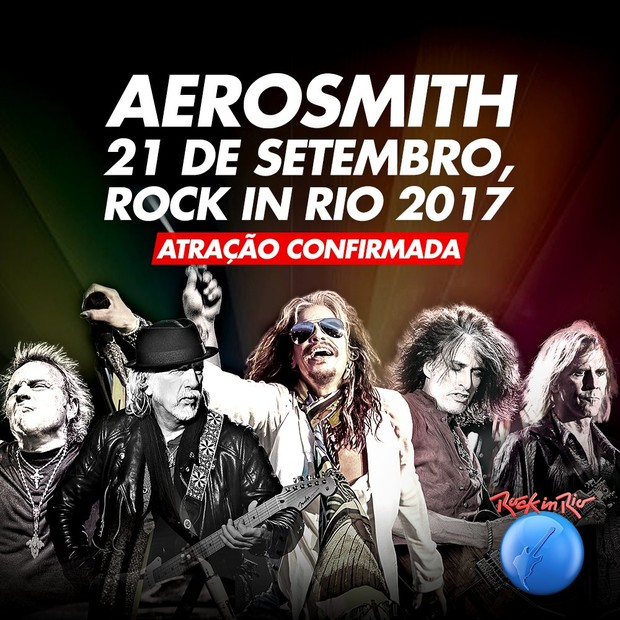 Aerosmith no Rock in Rio (Foto: Divulgação)