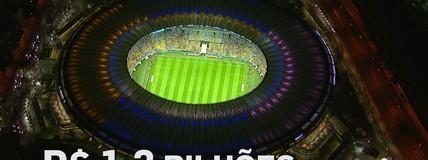 Após reforma de R$ 1 bilhão para a Copa, Maracanã vive impasse após sediar Jogos