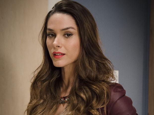Fernanda Machado adora encarnar a vilã (Foto: Raphael Dias/TV Globo)