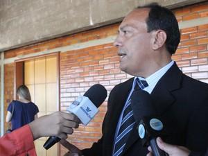 Presidente do Sindijus se pronunciou contra o projeto de agregação (Foto: Catarina Costa/G1 PI)