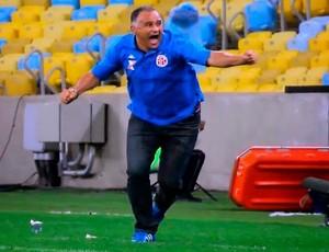 Oliveira Canindé, técnico do América-RN (Foto: Reprodução)