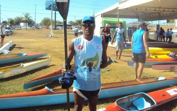 Chamberlain pratica canoagem há 20 anos (Foto: Marcos Martins/GLOBOESPORTE.COM)