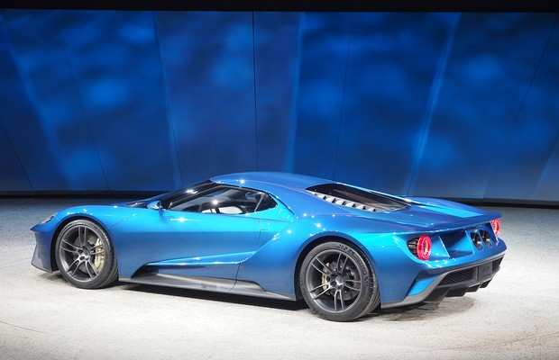 ford revela novo gt que chega ao mercado em 2016 auto esporte not cias. Black Bedroom Furniture Sets. Home Design Ideas