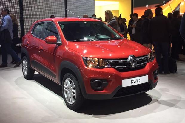 Renault Kwid (Foto: Michelle Ferreira / Autoesporte)
