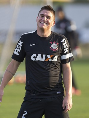Jocinei, treino do Corinthians (Foto: Daniel Augusto Jr. / Ag. Corinthians)