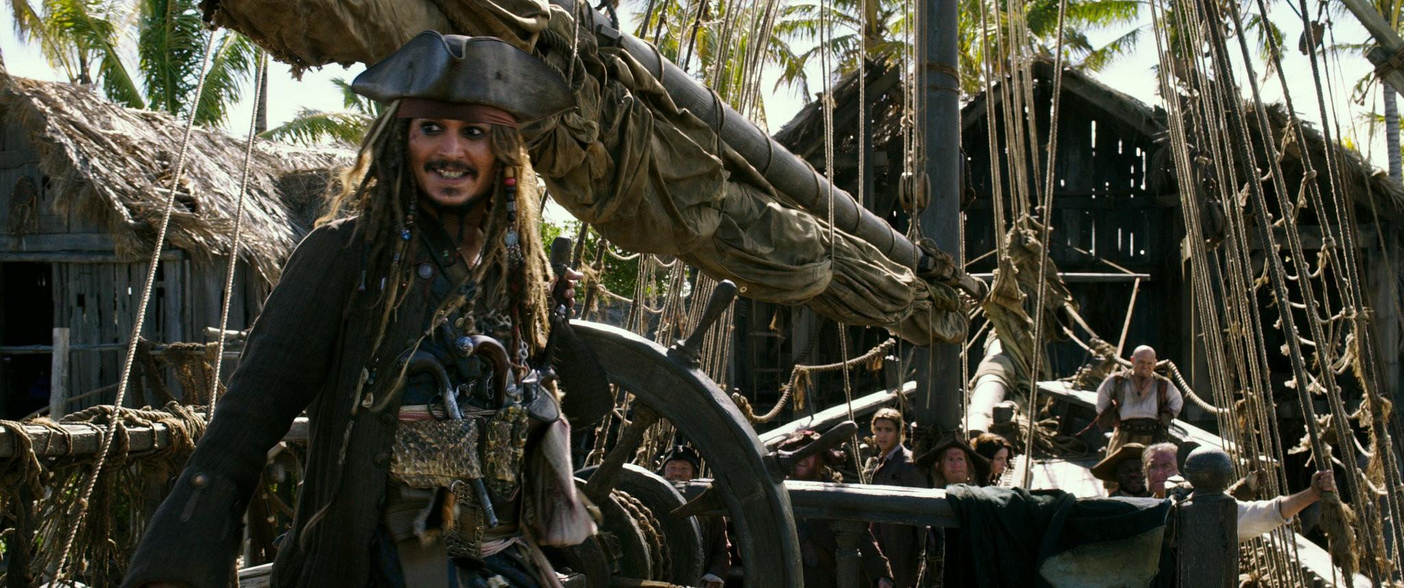 Johnny Depp em Piratas do Caribe: A Vingança de Salazar (Foto: Divulgação)