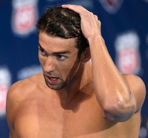 Michael Phelps 100 metros costas (Foto: Getty Images)