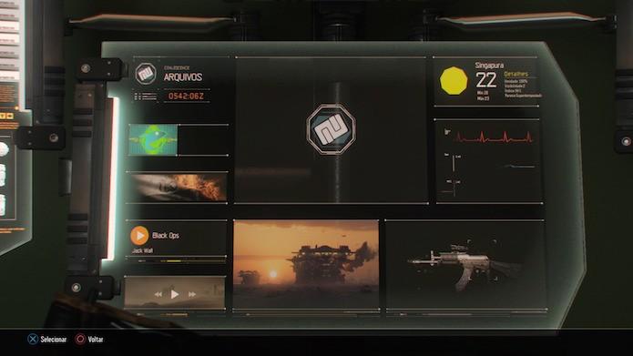 Acesse o computador na terceira missão do modo campanha (Foto: Reprodução/Victor Teixeira)