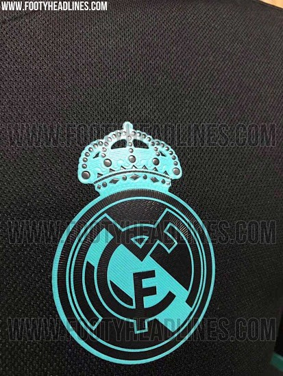 Nova camisa reserva do Real Madrid