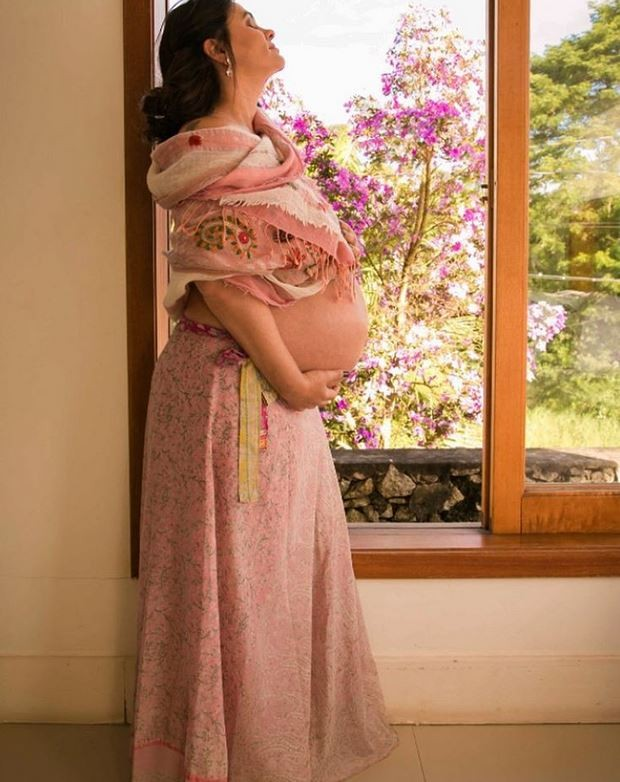 Suzana Alves mostra o barrigão de grávida (Foto: Reprodução/Instagram)