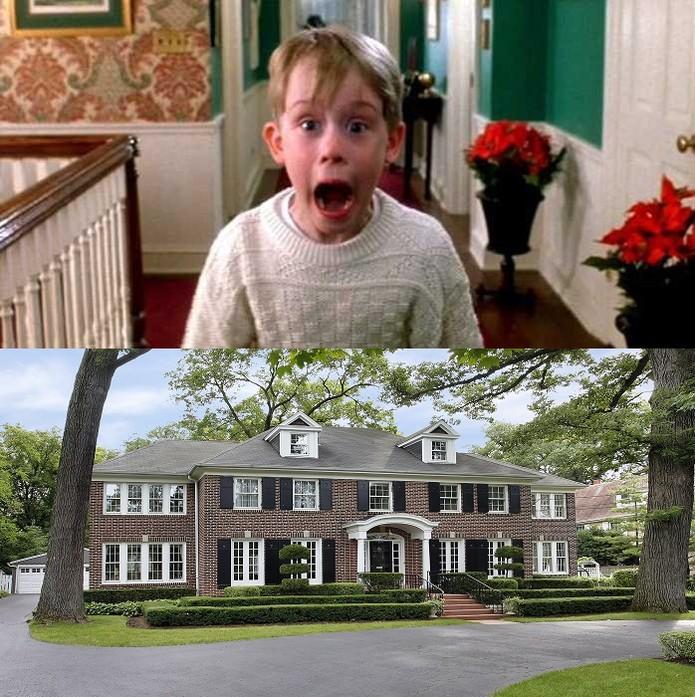A casa da família McCallister é o cenário principal do filme (Foto: Reprodução/Juliana Pixinine)