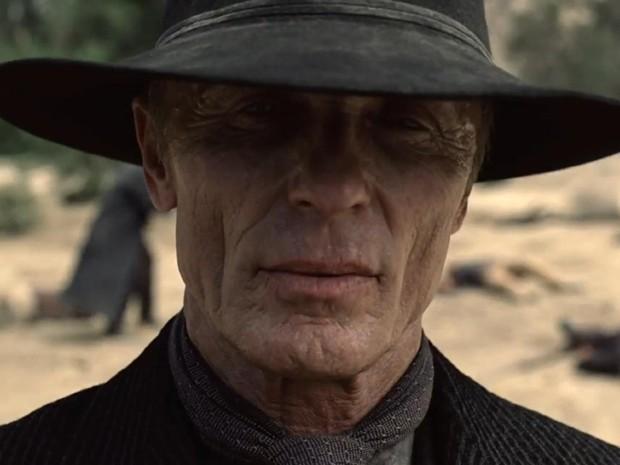 Ed Harris interpreta um vilão sem remorsos em 'Westworld' (Foto: Divulgação/HBO)