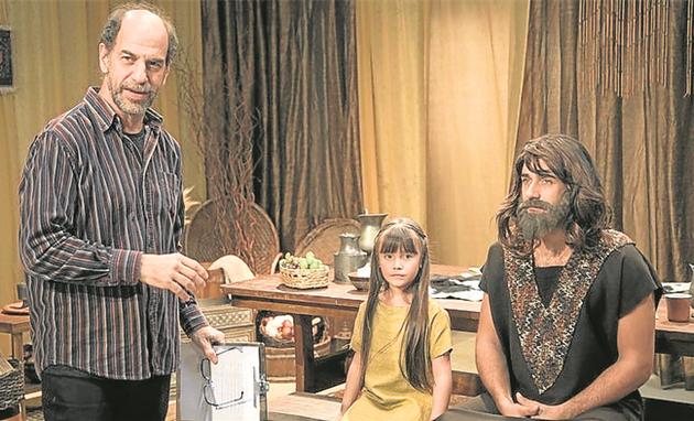Roberto Bomtempo estará no 'Hora do Faro'. O diretor vai orientar Eduarda, que sonha se tornar atriz, durante um teste com Rafael Sardão (Foto: Edu Moraes)