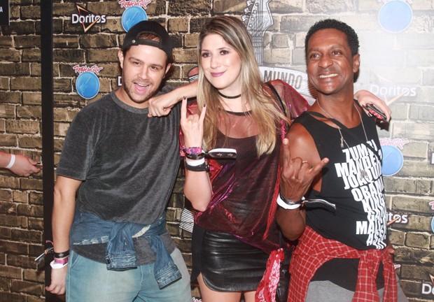 Justin Neto, Dani Calabresa e Luis Miranda (Foto: Sérgio Gallo/Ed. Globo)